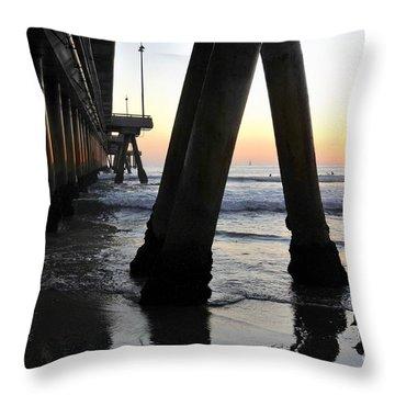 Venice Pylong Bird Throw Pillow