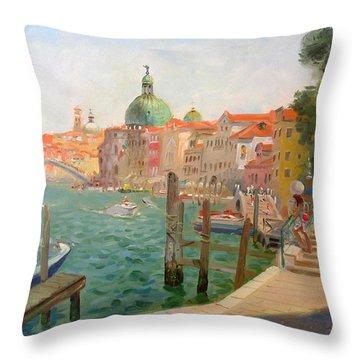 Venice Santa Chiara Throw Pillow