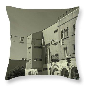 Venice Sign Throw Pillow