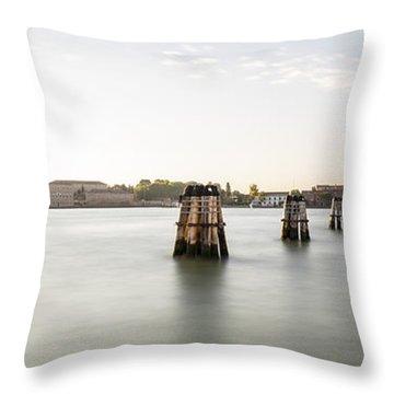 Venice Sunrise 00365 Throw Pillow