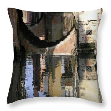 Venice01 Throw Pillow