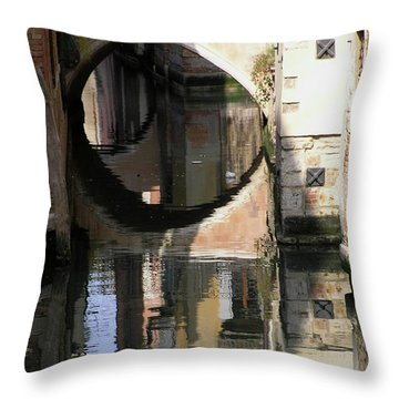 Venice01 Throw Pillow