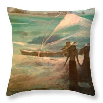 Vento Alle Hawaii Throw Pillow