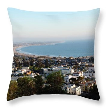 Ventura Coastline Throw Pillow