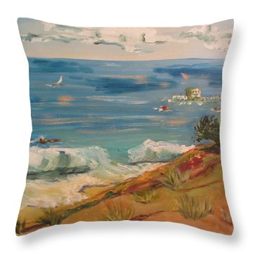 Ventura Imagined Throw Pillow