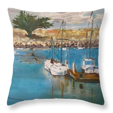Ventura Marina Throw Pillow