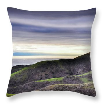 Ventura Two Sisters Throw Pillow by Kyle Hanson