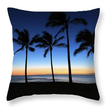 Venus At Sunset Throw Pillow