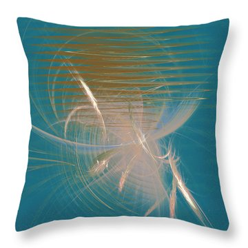 Venus Born Out Of The Sea Throw Pillow