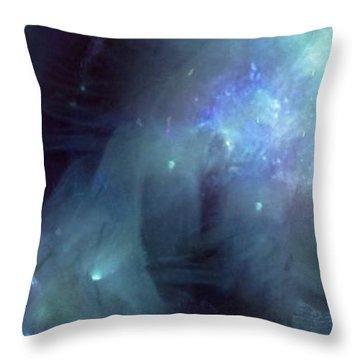 Venusian Portal Throw Pillow