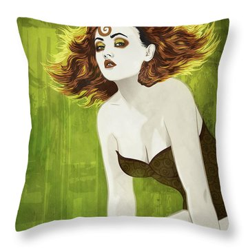 Ver Throw Pillow