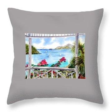 Veranda View Throw Pillow