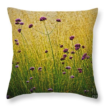 Verbena Throw Pillow