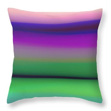 Verbena Stripe Throw Pillow