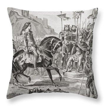 Vercingetorix The Gallic Leader Throws Throw Pillow