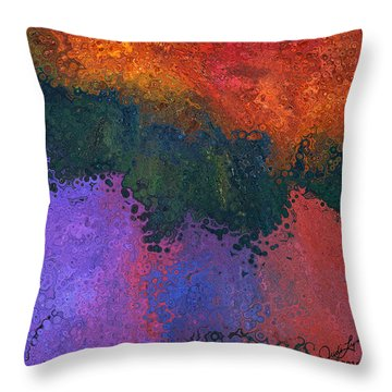Verge 2 Throw Pillow