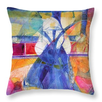 Vermeer Was Here Throw Pillow