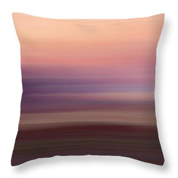 Vermilion Cliff At Dusk Throw Pillow