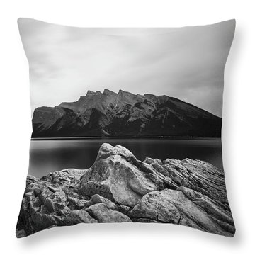 Vermilion Lake Throw Pillow