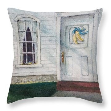 Vermont Fall Colors Throw Pillow