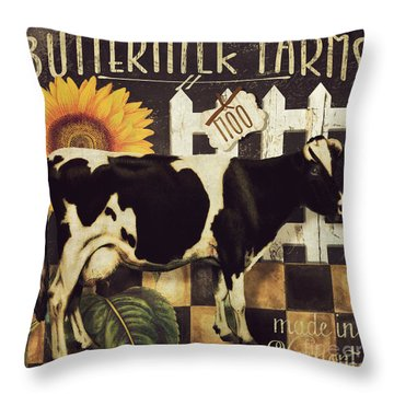Vermont Farms Cow Throw Pillow