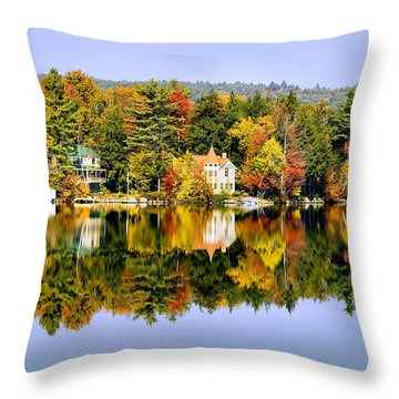 Vermont Reflections Throw Pillow