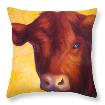 Vern Throw Pillow by Shannon Grissom