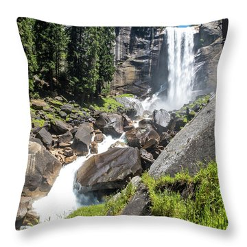 Vernal Falls- Throw Pillow