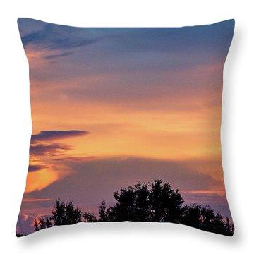 Vero Sunrise Throw Pillow