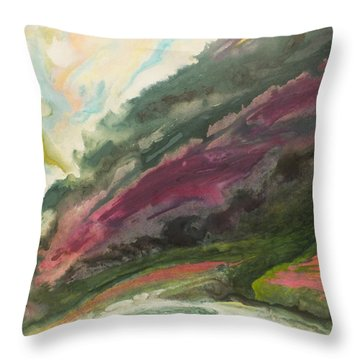 Vers La Tendresse Throw Pillow