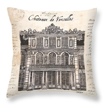 Versailles Throw Pillow