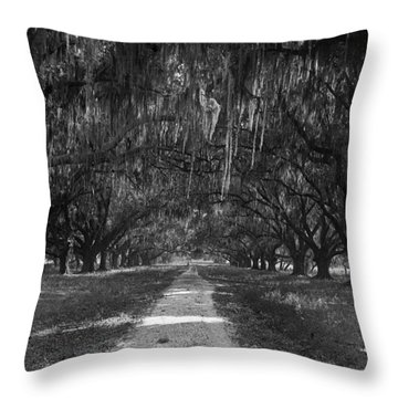 Versailles Oaks Throw Pillow