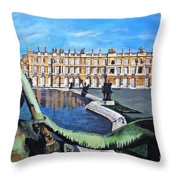 Versailles Palace Throw Pillow