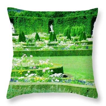 Versailles Pathways Throw Pillow