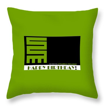 Versatility Throw Pillow