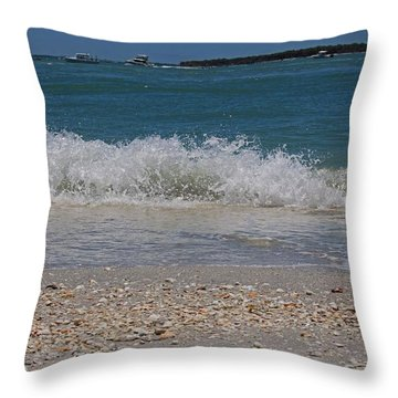 Throw Pillow featuring the photograph Verses Out Of Rhythm by Michiale Schneider