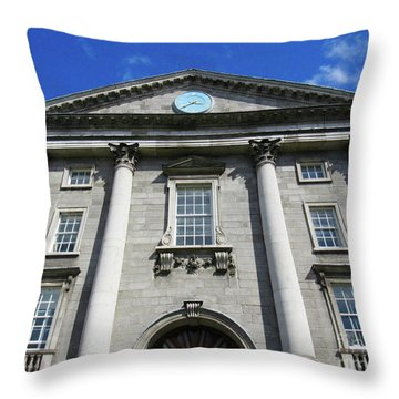 Downtown Dublin 4 Throw Pillow