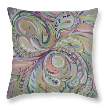 Summer Sermon 2 Throw Pillow