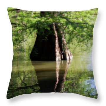 Vertices Throw Pillow