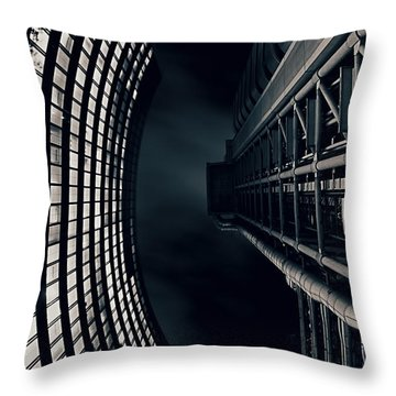 Vertigo I Throw Pillow