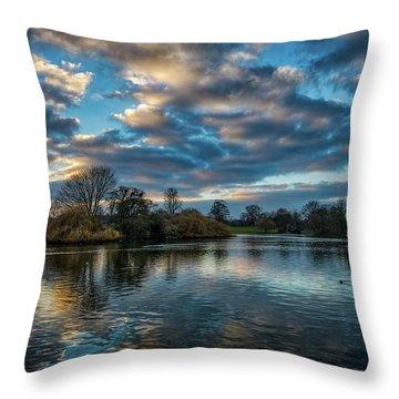 Verulamium Park Throw Pillow