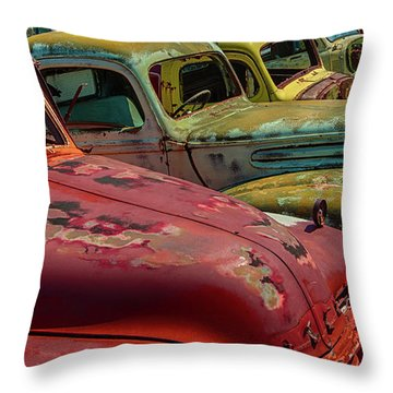 Very Late Models Throw Pillow
