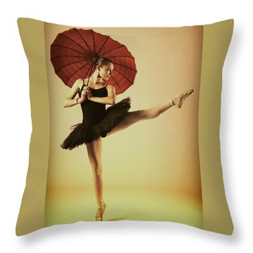 Very Pointey And Warm Throw Pillow