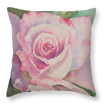 Very Rose  Throw Pillow