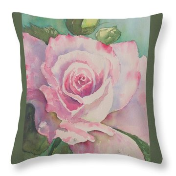Very Rose  Throw Pillow