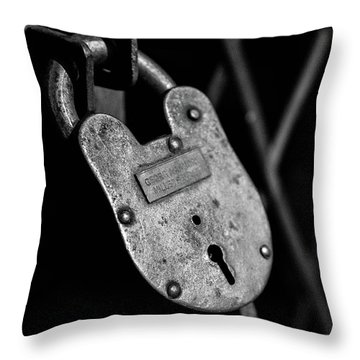 Very Secure Throw Pillow