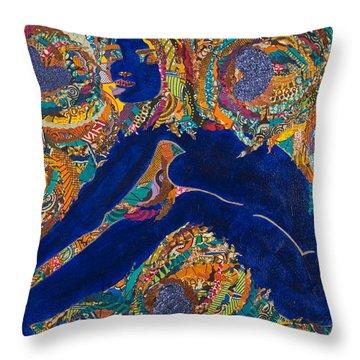 Vesica  Pisces Throw Pillow