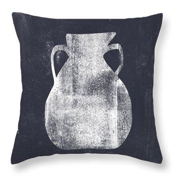 Vessel 5- Art By Linda Woods Throw Pillow