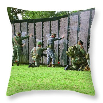 Veterans Memorial Throw Pillow