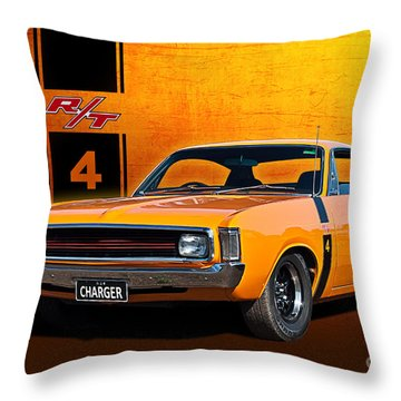 Vh Valiant Charger Throw Pillow